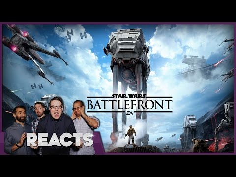 Star Wars Battlefront PS4/Xbox One Impressions – Kinda Funny Reacts