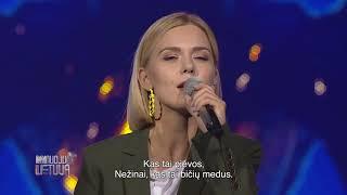 """Monika Linkytė - """"Išeinu"""" (Dainuoju Lietuvą)"""