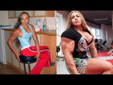 , title : 'The Female Bodybuilder Shocked The World | Then and Now'