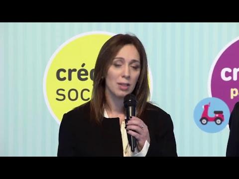 Descuentos en supermercados del 50% y créditos para comprar autos, motos y muebles, los beneficios que anunció María Eugenia Vidal