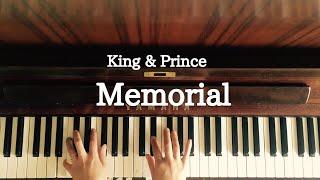 mqdefault - 🌱🎹【弾いてみた】Memorial/King & Prince/『部活、好きじゃなきゃダメですか?』主題歌【シンプルアレンジ/ピアノ】