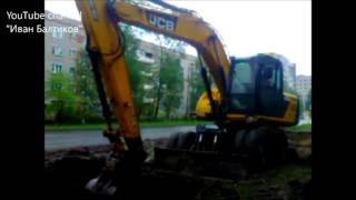 Авария на теплотрассе Архангельск