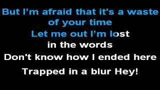 MØ   Blur (Karaoke Lyrics)