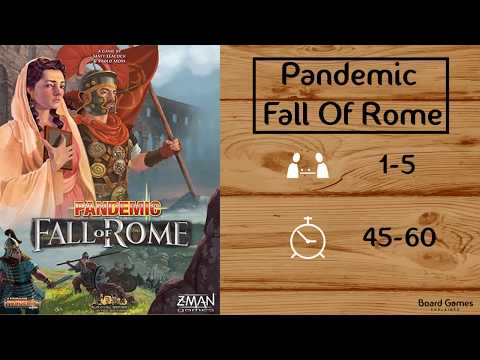 Pandemic:Fall Of Rome Explained in 8 Minutes