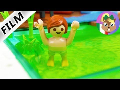 Playmobil Film | JULIAN COLORA L?ACQUA DELLA PISCINA! - La mamma è furiosa!
