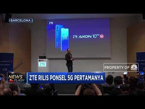 ZTE Rilis Ponsel 5G Pertamanya