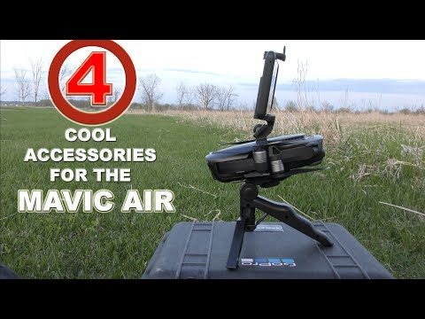 4-cool-accessories-for-mavic-air--prop-lock-rubber-legs-gimbal-grip-led-pad
