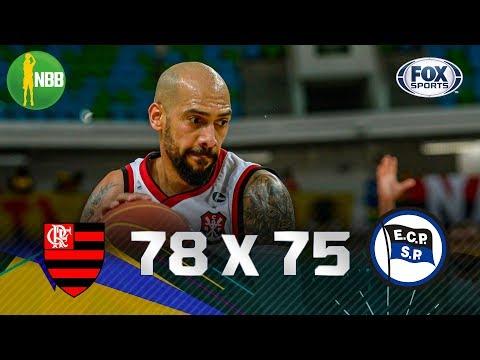 NA FINAL! Flamengo vence Pinheiros e decide a Copa Super 8