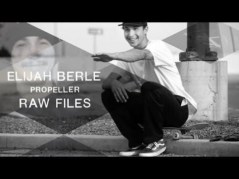 Elijah Berle's Propeller RAW FILES