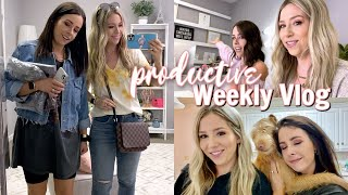 PRODUCTIVE DAY IN MY LIFE | GRWM, Filming, Shopping +more! by Eleventh Gorgeous