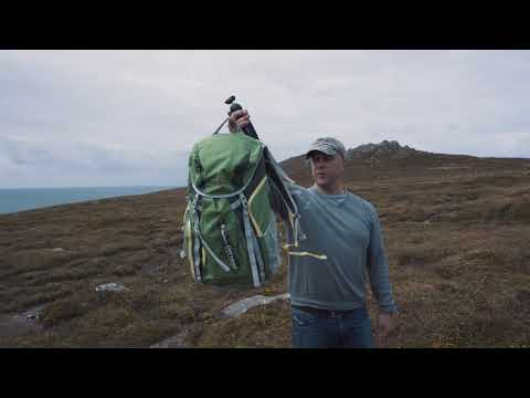 Manfrotto Offroad Hiker backpack 30L - Hands on Field Test (Wild Atlantic Way Dunquin)