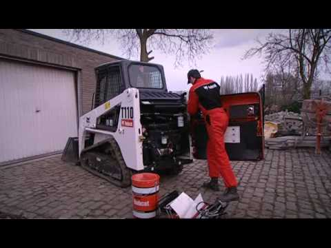 Video of Bobcat\'s smallest tracked loader