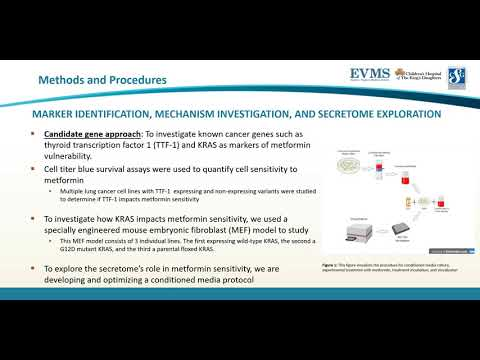 Thumbnail image of video presentation for Understanding Markers of Cancer Vulnerabilities to Metformin