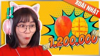 Xoài Ruby mắc nhất Việt Nam  Misthy bỏ 1tr2 để thử    WHAT THE FOOD