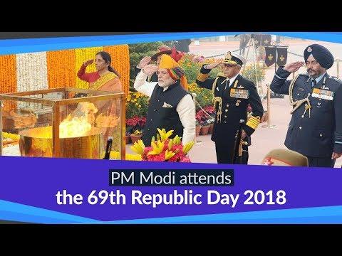 The 69th Republic Day Ceremony, 2018