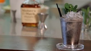 How To Make A Mint Julep | Cocktail Recipes