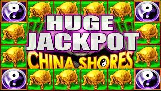 HUGE JACKPOT BIG HITS ON China Shores High Limit Slot Machine