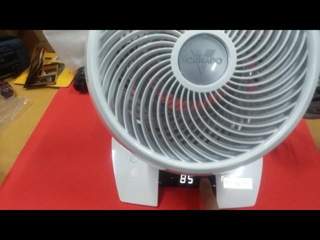 Ventilator Zirkulator 30m Reichweite Vornado Energy Smart 723DC DC