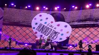 The Vamps Paper Hearts Glasgow SSE hydro Middle Of The Night Tour