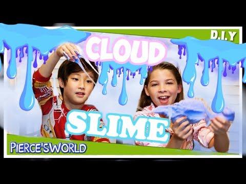 DIY Cloud Cream Slime Challenge How to make Slime Tutorial Video