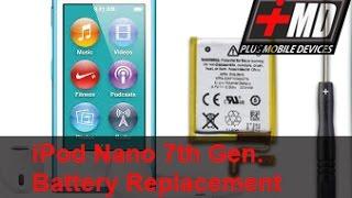 IPod Nano 7 Gen. Battery Replacement
