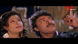 Chiranjeevi  Romance with Vijayashanthi    Best Romantic Scene of Tollywood #132