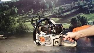 The chainsaw guy shop talk Stihl MS 661 chainsaw - Free