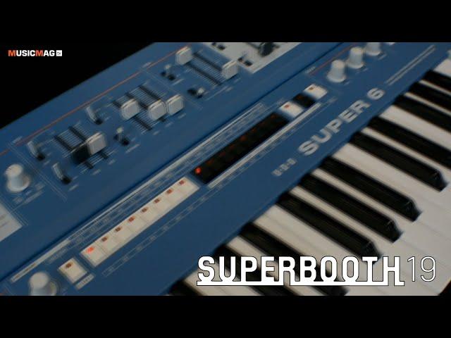UDO - Super6 - аналоговый синтезатор (Superbooth19)