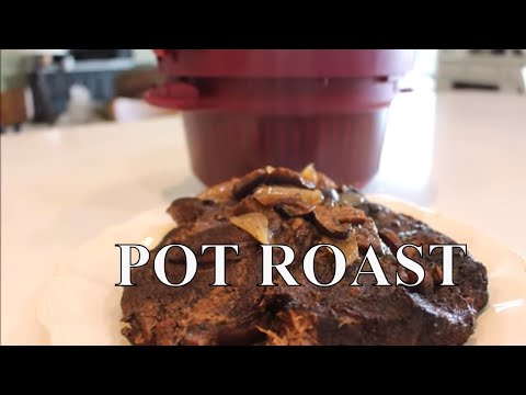 Pressure Cooked Pot Roast With Linda's Pantry