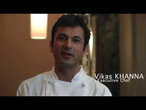 Junoon Restaurant featuring celebrity chef Vikas Khanna