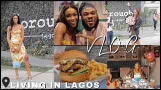 LIVING IN LAGOS: Let's Eat, Party, Work and Have A Good Time!! Good Vibes Only!!