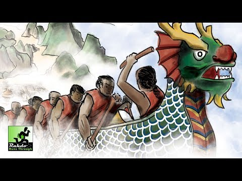 Rahdo Runs Down►►► Dragon Boats of the Four Seas