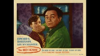 ❤1947 MYSTERY! Edward G. Robinson 'The Red House'  Classic Movie Black & White