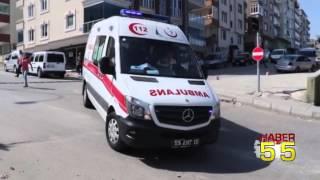SAMSUN'DA KAMYONET 3 ARACA ÇARPTI! 4 YARALI...