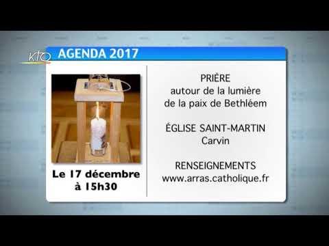 Agenda du 8 décembre 2017