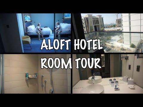 ALOFT HOTEL THE PALM  ARRIVAL & ROOM TOUR/Nery Joy/Dubai Vlog