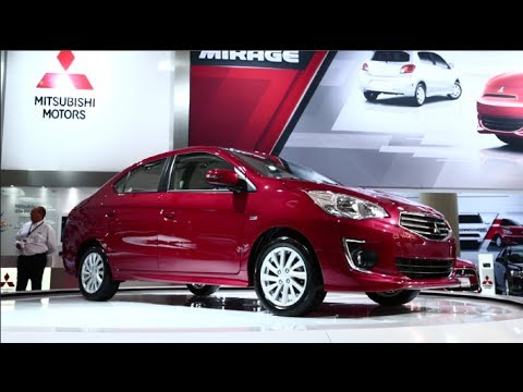 Mitsubishi Mirage G4 Sedan First Look - 2014 CIAS