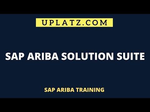 SAP Ariba Solution Suite   SAP Ariba Training Course   Uplatz