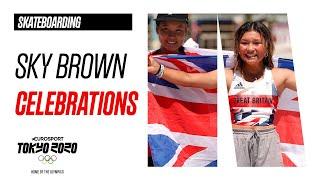 Sky Brown Final Run & Celebrations   Skateboarding Highlights   Olympic Games - Tokyo 2020