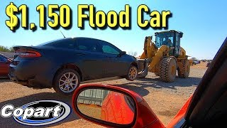 Salvage Copart Flood 2013 Dodge Dart SXT Win $1150