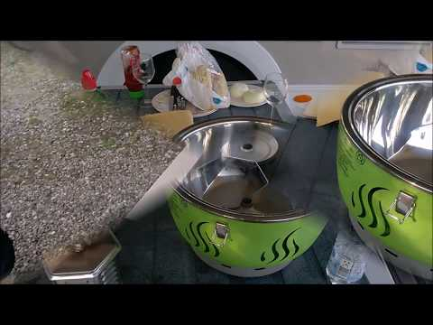 Florabest Holzkohlegrill Mit Aktivbelüftung Bewertung : Florabest holzkohlegrill kohlegrill grill aktivbelüftung gebläse