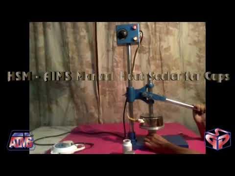 Cup Heat Sealing Machine