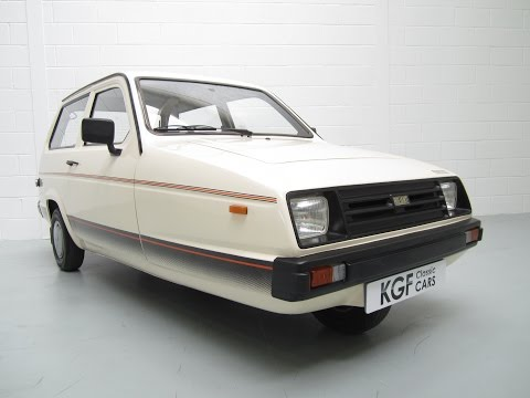 Amazing One Owner Reliant Rialto Hatch SE With Documented History And Just 11,183 Miles - SOLD!