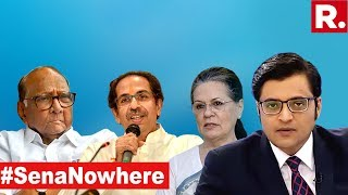 Sonia Gandhi Crushes Uddhav Thackeray's CM Dream? | The Debate With Arnab Goswami