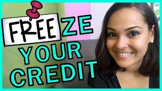 Freeze Your Credit For FREE!!!