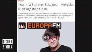 Lonya Guest Mix For Wally Lopez Insomnia Europa FM