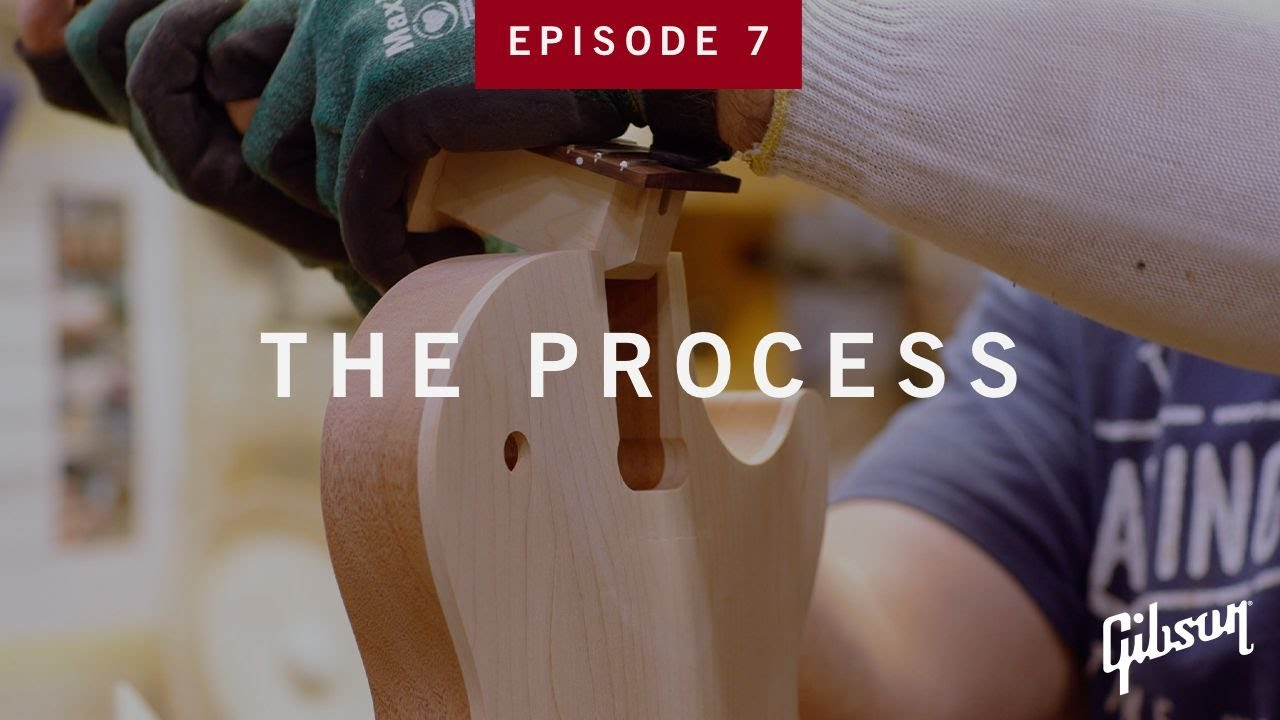 The Process: Episode 7 - How Guitar Necks Get Glued To Bodies At Gibson USA