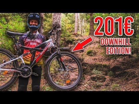 DAS 201€ BILLIG BAUMARKT MTB - Der Downhill Test