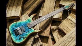 Building a custom guitar - The Skervesen documentary 4K