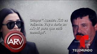 Conversaciones íntimas entre El Chapo y su esposa | Al Rojo Vivo | Telemundo